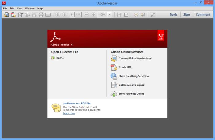 Adobe Reader for PC