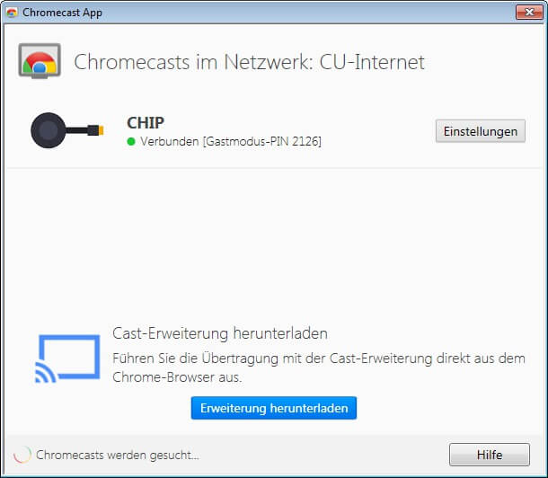 Chromecast for PC Windows XP/7/8/8 1/10 Free Download