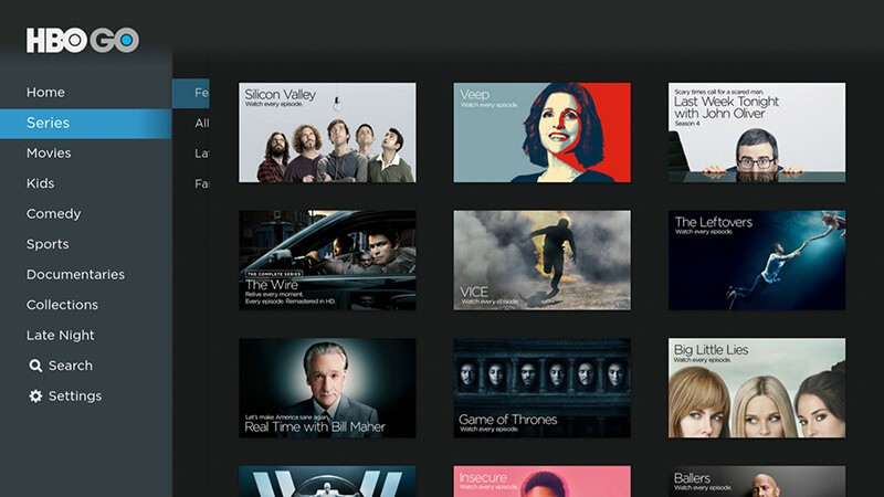HBO GO for PC