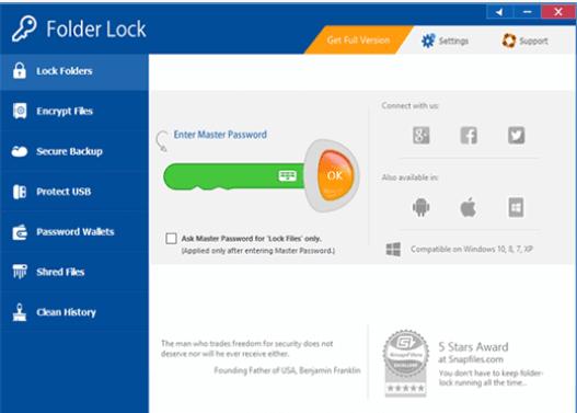 Folder Lock for PC