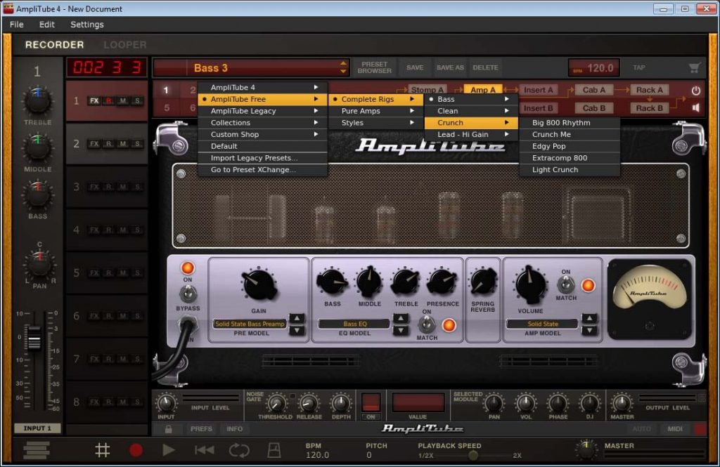 AmpliTube for PC