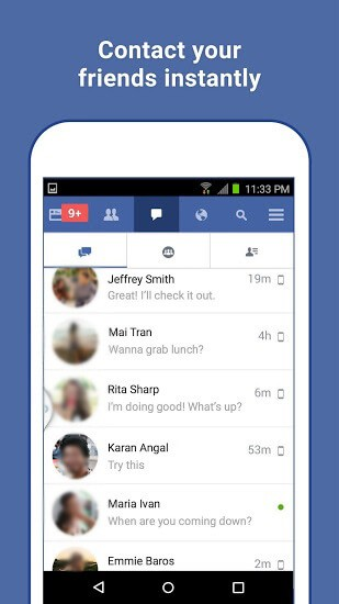 facebook lite free download for windows xp