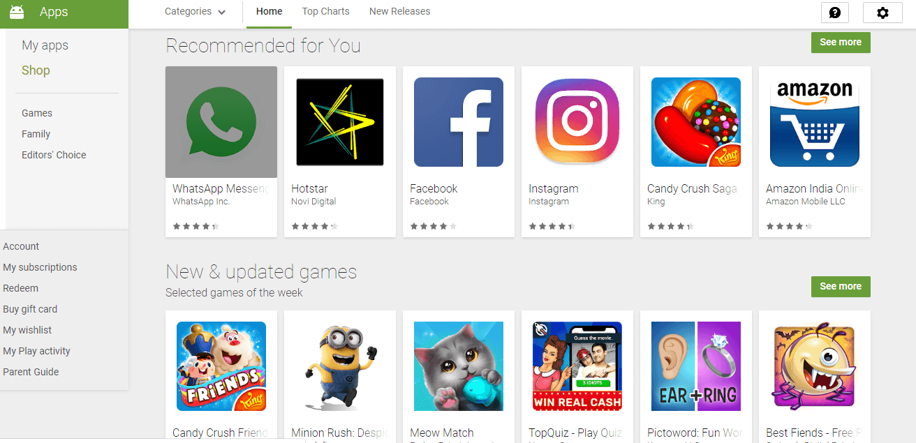 download apps play store free