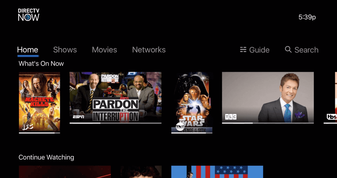 DIRECTV NOW for PC