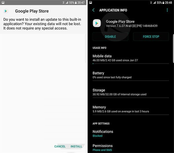 How to Install Play Store