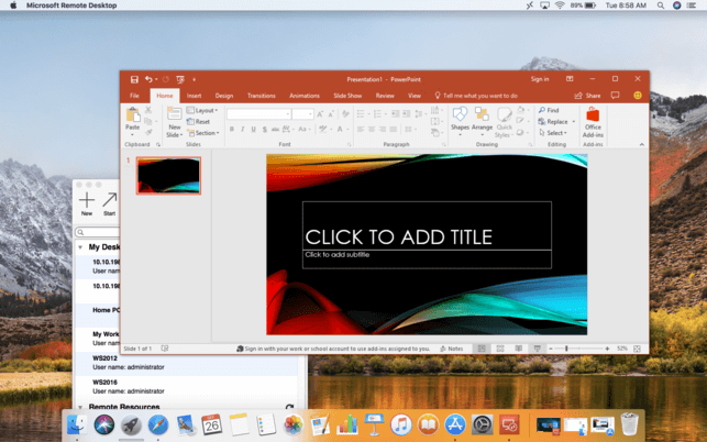 Remote Desktop for Mac