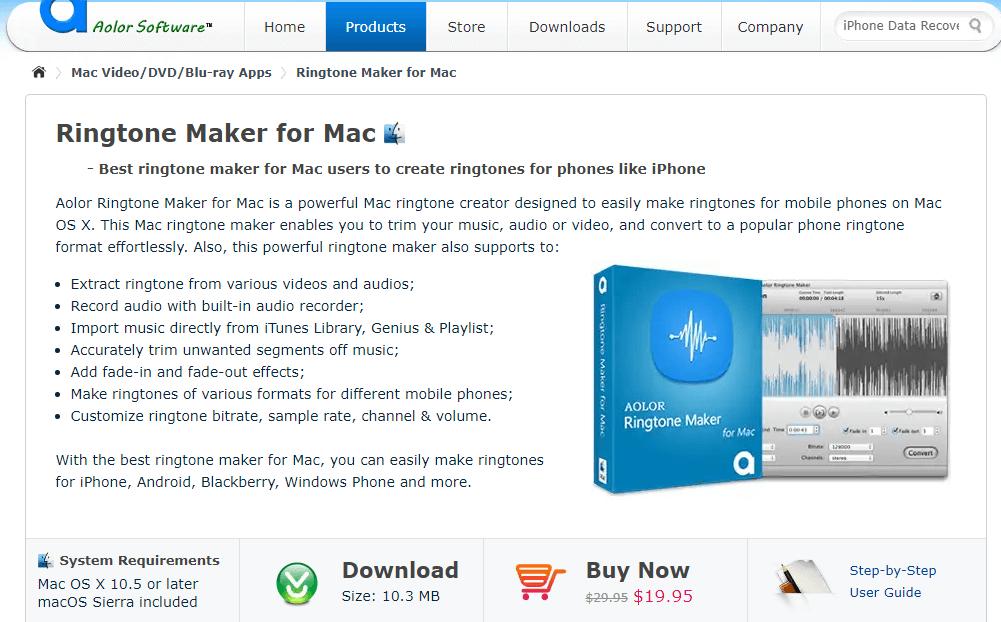 Ringtone Maker for Mac