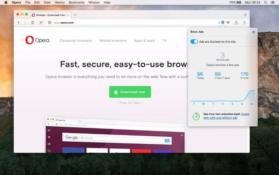 Opera Minifor Mac