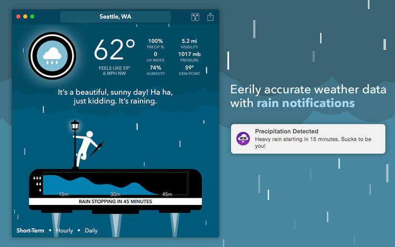 Weather App for Mac