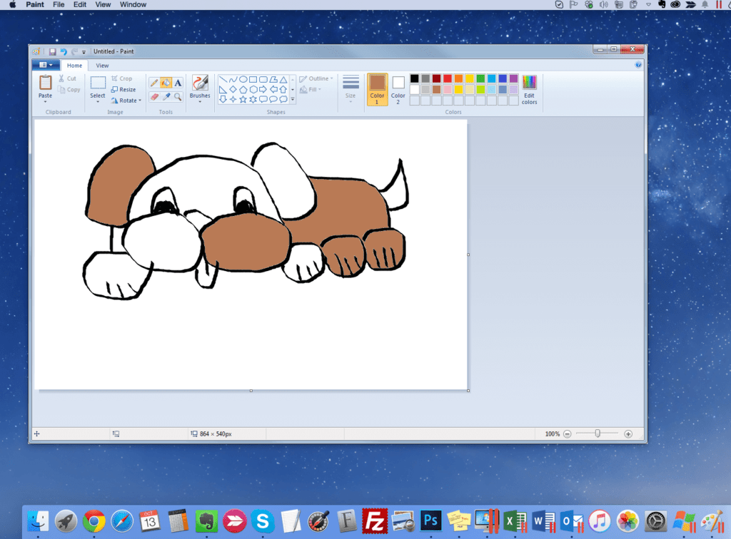 Microsoft Paint for Mac