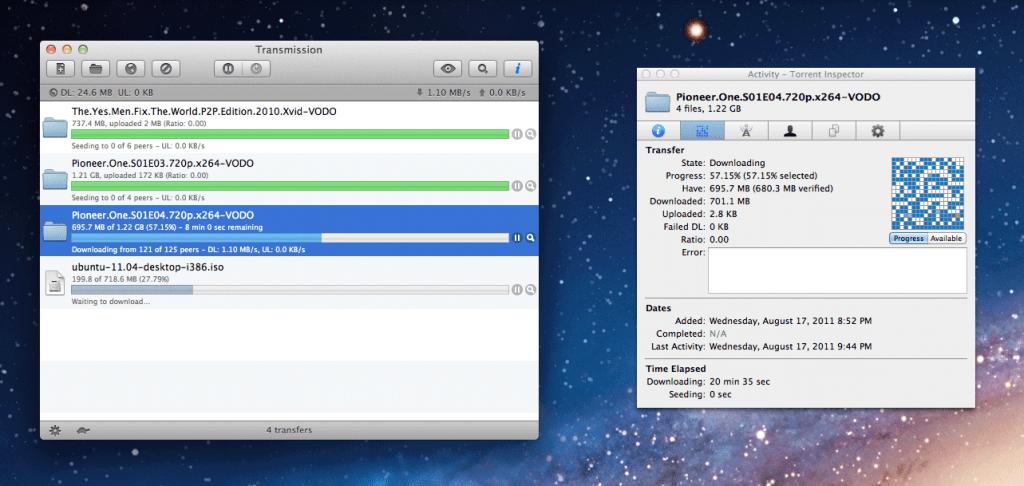 Transmission for Mac