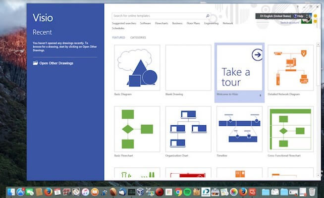 Microsoft Visio for Mac