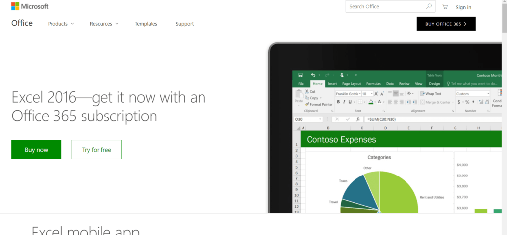 Microsoft Excel for Mac