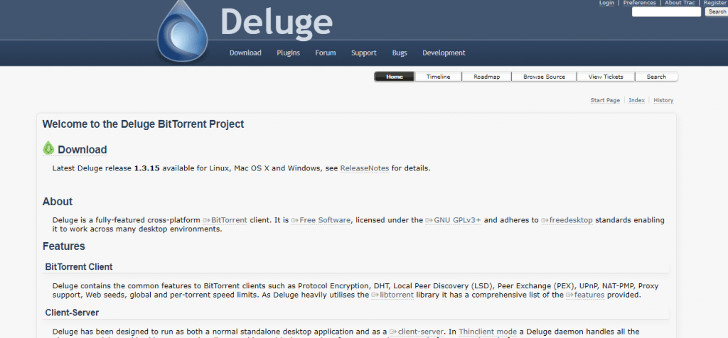 Deluge for Mac