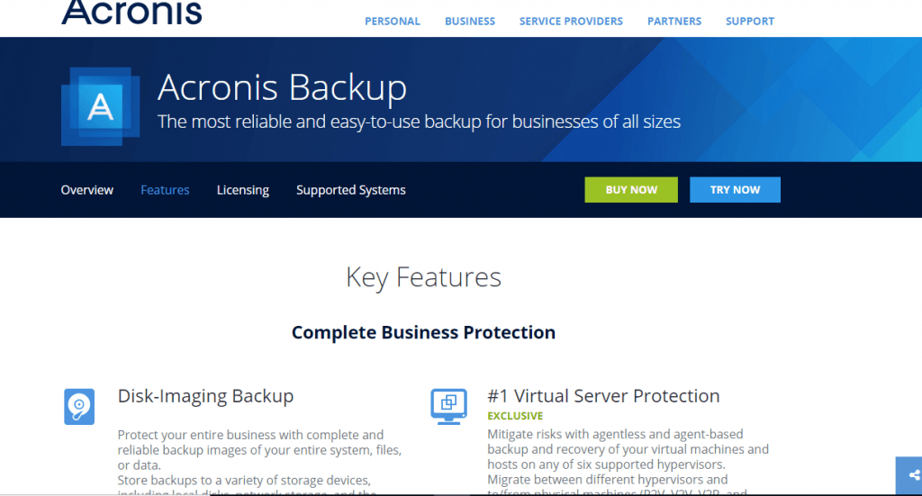 Acronis Backup for Mac