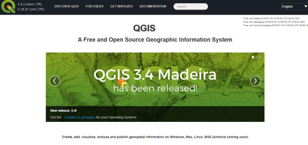 QGIS For Mac