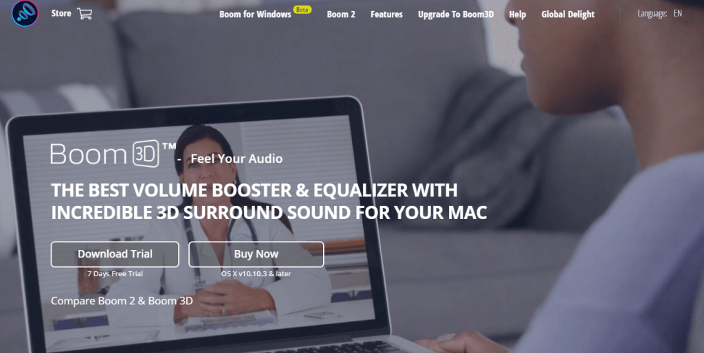 Bass Booster for Mac