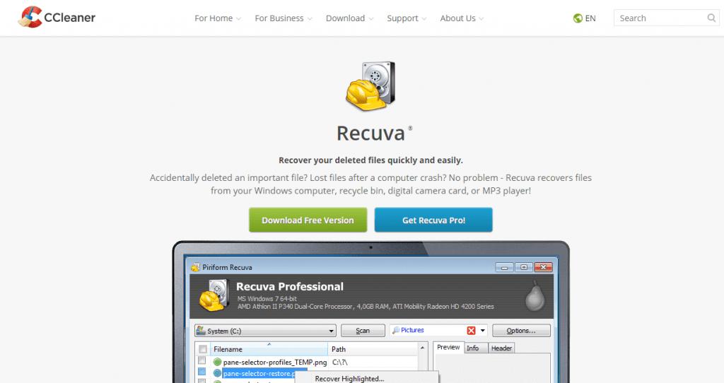 Recuva for Mac