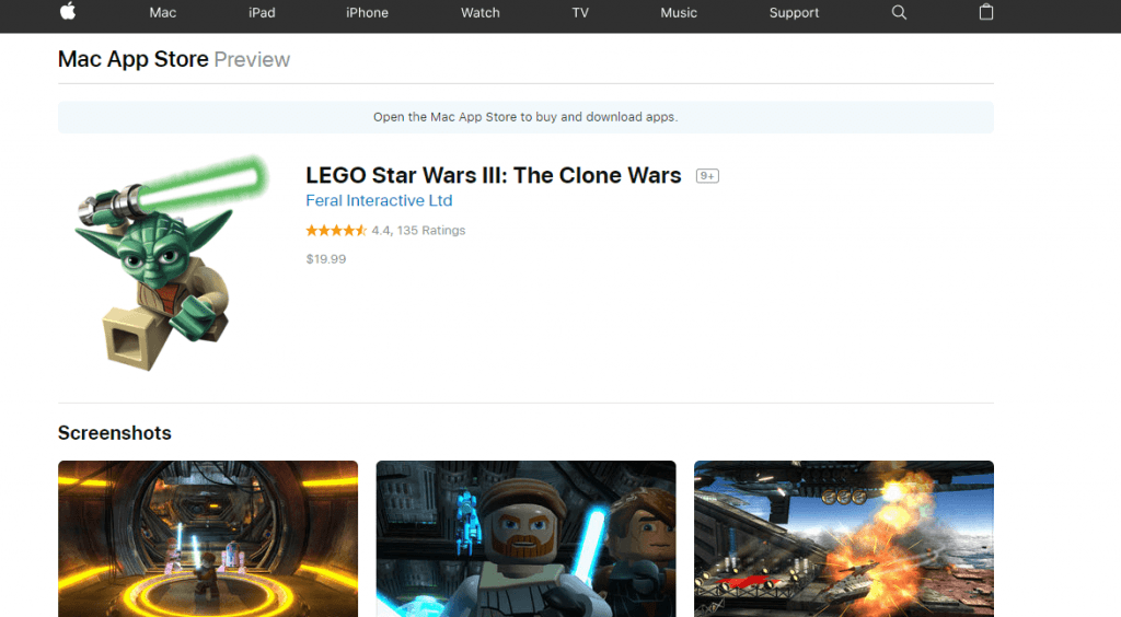 Star Wars Games for Mac