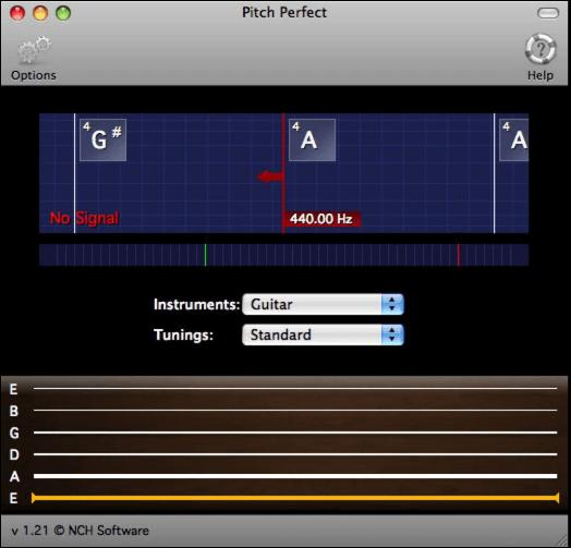 Guitar Tuner for Mac