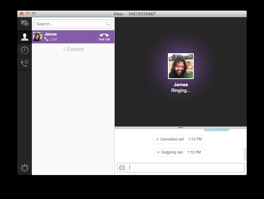 Viber for Mac