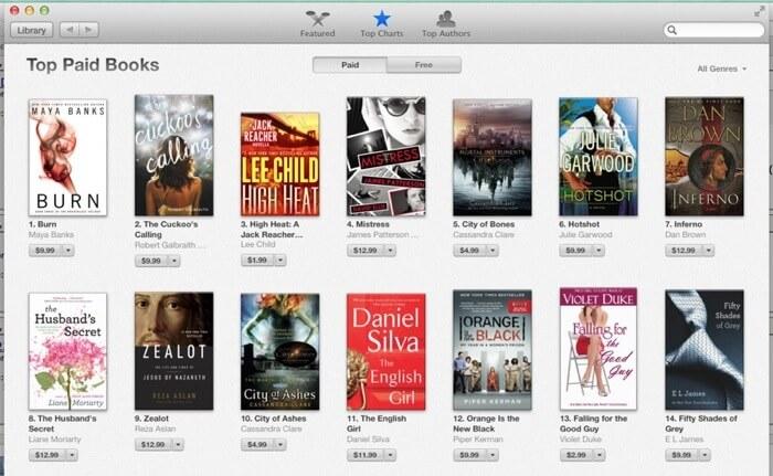 iBooks for Mac