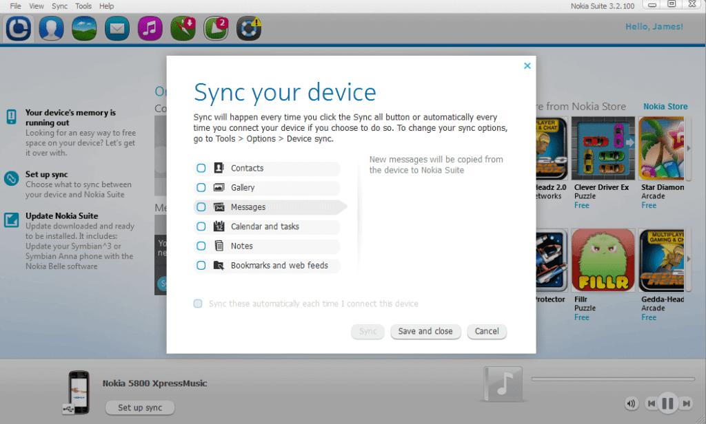 Nokia Suite for Mac