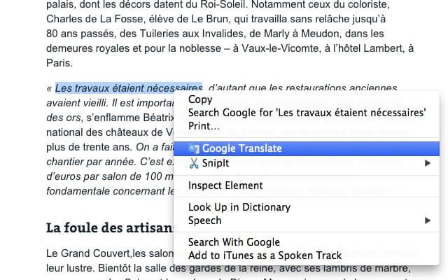 Google Translate for Mac