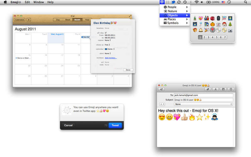 Emoji for Mac