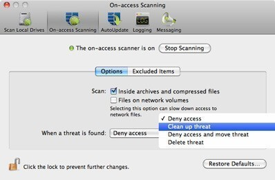 Sophos for Mac