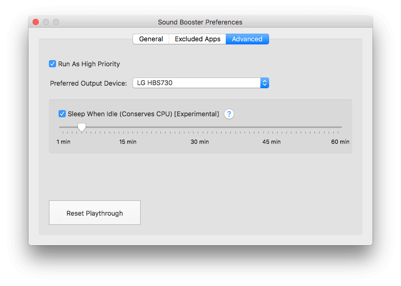 Volume Booster for Mac