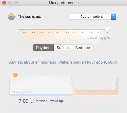 Blue Light Filter for Mac